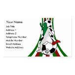 Italia, tarjetas de visita del coche del fútbol de