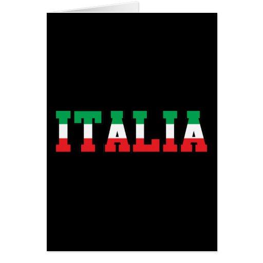 Italia Tarjetón