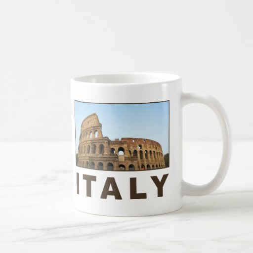 Italia Taza Básica Blanca