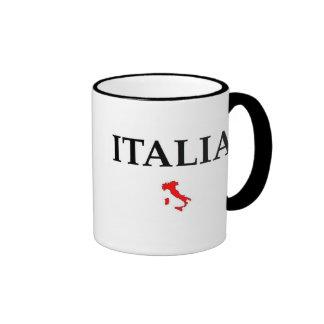 Italia Taza De Dos Colores