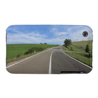 Italia Toscana d Orcia de Val camino Case-Mate iPhone 3 Protectores