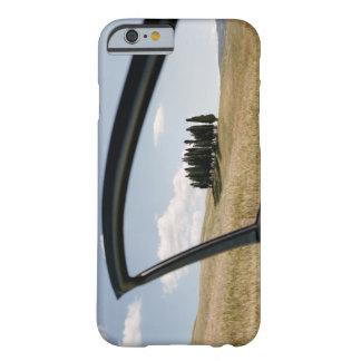 Italia, Toscana, d'Orcia de Val, árboles de Funda Para iPhone 6 Barely There