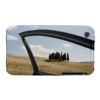 Italia, Toscana, d'Orcia de Val, árboles de iPhone 3 Carcasa