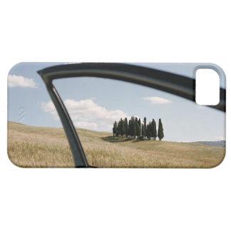 Italia, Toscana, d'Orcia de Val, árboles de iPhone 5 Fundas
