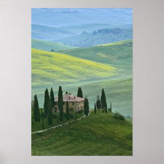 Italia, Toscana. El el belvedere o hermoso Posters