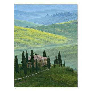 Italia, Toscana. El el belvedere o hermoso Tarjetas Postales