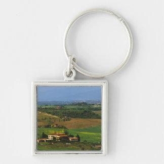 Italia, Toscana. Escénico del d'Orcia de Val Llavero Personalizado