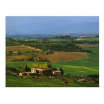 Italia, Toscana. Escénico del d'Orcia de Val Postales