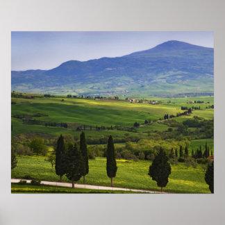 Italia, Toscana. Escénico del Toscano Póster