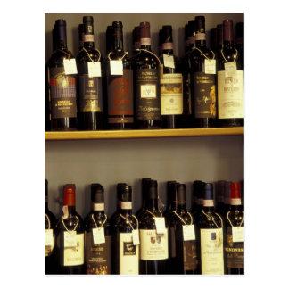 Italia, Toscana, exhibición del vino de Pienza en Postal