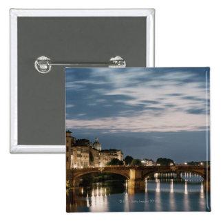 Italia, Toscana, Florencia 2 Pin Cuadrada 5 Cm
