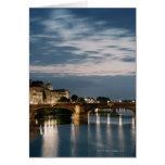 Italia, Toscana, Florencia 2 Tarjetón