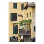 Italia, Toscana, Florencia. Balcón y Fotos