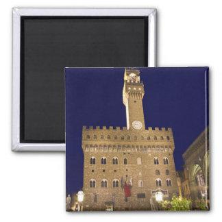Italia, Toscana, Florencia. Cena de la noche Iman De Frigorífico