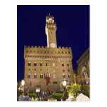 Italia, Toscana, Florencia. Cena de la noche Postales