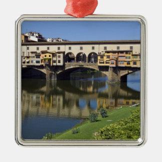 Italia, Toscana, Florencia, el Ponte Vecchio 2 Ornaments Para Arbol De Navidad