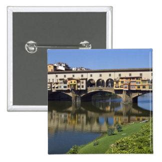Italia, Toscana, Florencia, el Ponte Vecchio 2 Pin