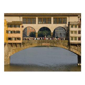 Italia, Toscana, Florencia, el Ponte Vecchio Tarjetas Postales