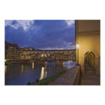 Italia, Toscana, Florencia. Ponte Vecchio Impresiones