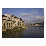 Italia, Toscana, Florencia. Vista diurna del Tarjeta De Felicitación