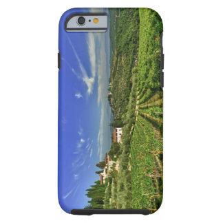 Italia, Toscana, Huelga. Los viñedos de Castello Funda Para iPhone 6 Tough