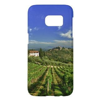 Italia, Toscana, Huelga. Los viñedos de Castello Fundas Samsung Galaxy S7