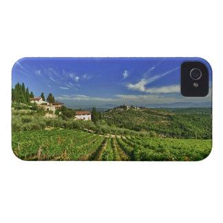 Italia, Toscana, Huelga. Los viñedos de Castello iPhone 4 Case-Mate Protectores