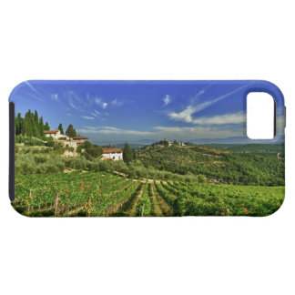 Italia, Toscana, Huelga. Los viñedos de Castello iPhone 5 Fundas