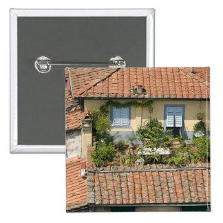 Italia, Toscana, Lucca, vista de la ciudad y 3 Pins