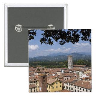 Italia, Toscana, Lucca, vista de la ciudad y 4 Pin