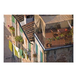 Italia, Toscana, Lucca, vista de la ciudad y 5 Fotografías