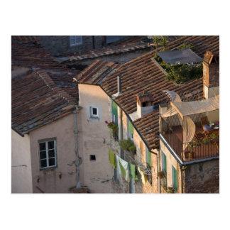 Italia, Toscana, Lucca, vista de la ciudad y 6 Postal