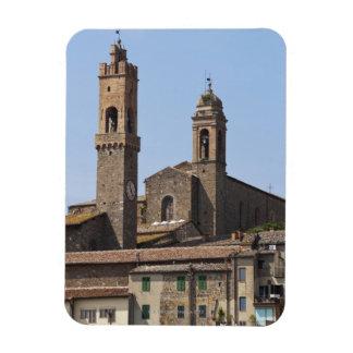 Italia. Toscana. Montalcino 2 Imanes Rectangulares