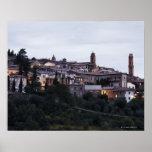 Italia, Toscana, Montalcino Póster