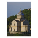 Italia, Toscana, Montepulciano. Iglesia de San Poster