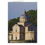 Italia, Toscana, Montepulciano. Iglesia de San Tarjeta De Felicitación