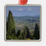 Italia, Toscana, Montepulciano. Vista del Ornaments Para Arbol De Navidad