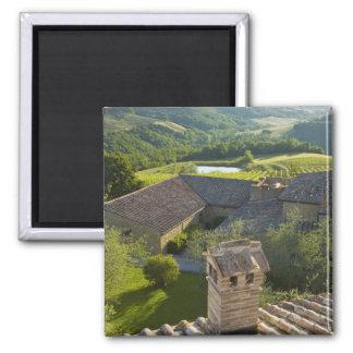 Italia, Toscana. Opinión de Roofop del chalet Iman Para Frigorífico