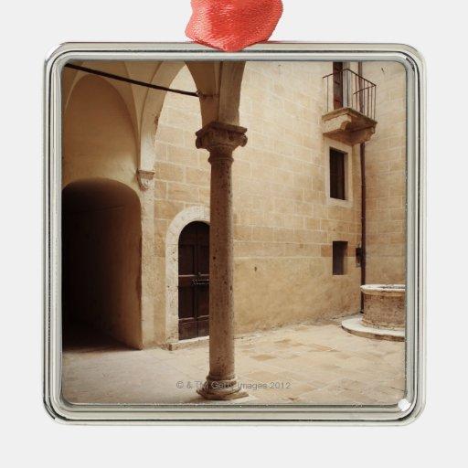 Italia, Toscana, Pienza Adorno De Reyes