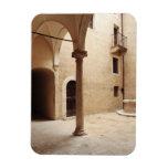 Italia, Toscana, Pienza Imán Rectangular