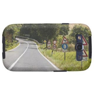 Italia. Toscana. Val D'Orcia (valle de Orcia) 2 Galaxy S3 Carcasas