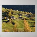 Italia, Trentino - alto provincia del Adigio, Bolz Póster