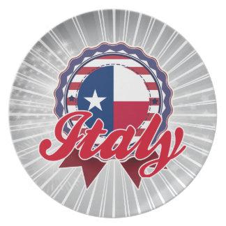 Italia, TX Plato De Comida