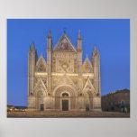 Italia, Umbría, Orvieto, catedral de Orvieto Posters
