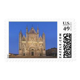 Italia, Umbría, Orvieto, catedral de Orvieto Sellos Postales