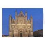 Italia, Umbría, Orvieto, catedral de Orvieto Felicitación