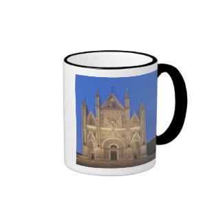 Italia, Umbría, Orvieto, catedral de Orvieto Taza De Dos Colores