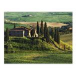 Italia. Un chalet pastoral de Toscana en Val Tarjetas Postales