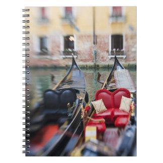 Italia, Venecia, foco selectivo de la góndola en l Libretas