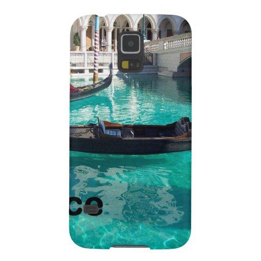 ¡Italia Venecia - góndola! (St.K) Carcasa Para Galaxy S5